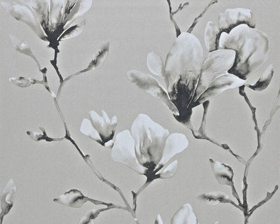 Harlequin Lotus Silver 110880 Wallpaper
