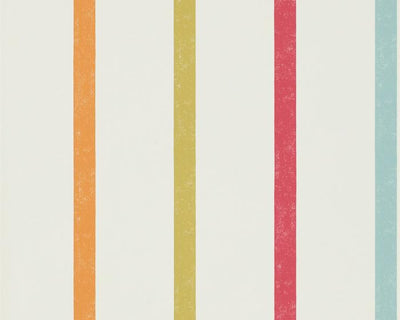 Scion Hoppa Stripe Poppy/Tangerine/Sulphur 111113 Wallpaper