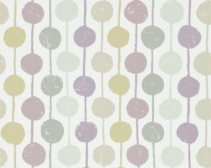 Scion Taimi Mist/Heather/Pebble 111125 Wallpaper