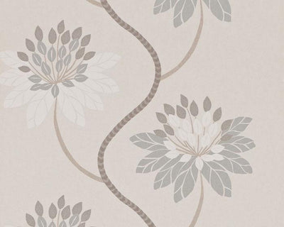 Harlequin Eloise Willow/Linen 111188 Wallpaper