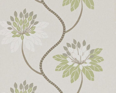Harlequin Eloise Avocado/Warm Grey 111189 Wallpaper