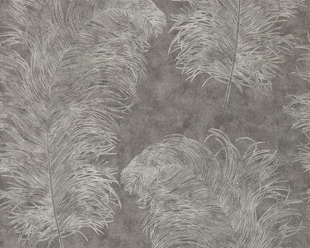 Harlequin Operetta Graphite 111238 Wallpaper