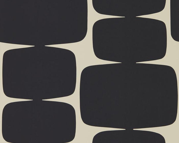 Scion Lohko Liquorice 111290 Wallpaper