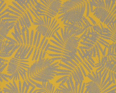 Harlequin Espinillo Mimosa/Pewter 111392 Wallpaper