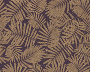 Harlequin Espinillo Aubergine/Gold 111394 Wallpaper
