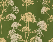 Harlequin Angeliki Emerald/Gold 111397 Wallpaper