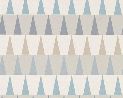 Harlequin Azul Nordic Blue/Sky/Smoke 111442 Wallpaper