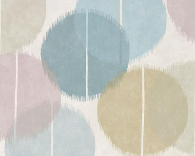 Harlequin Circulo Sky/Smoke 111454 Wallpaper