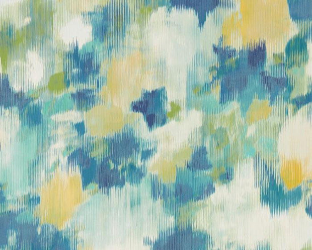 Harlequin Exuberance Lemon/Navy 111478 Wallpaper