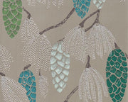 Harlequin Epitome Turquoise/Pea/Gilver 111502 Wallpaper