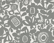 Scion Kukkia Charcoal 111511 Wallpaper