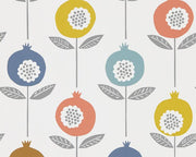 Scion Pepino Pink Grapefruit/Sunshine/Ink 111542 Wallpaper