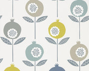 Scion Pepino Limeade/Hemp/Glacier 111544 Wallpaper