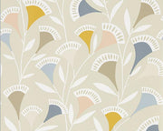 Scion Nokku Blush/Honey/Raffia 111550 Wallpaper