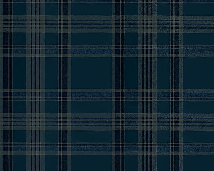 Ralph Lauren Deerpath Trail Plaid Indigo PRL5020/04 Wallpaper