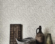Morris & Co Willow Bough Ecru/Silver 216023 Wallpaper