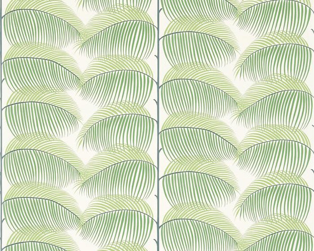 Sanderson Manila Green/Ivory 213367 Wallpaper