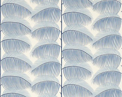 Sanderson Manila Blue/Linen 213369 Wallpaper
