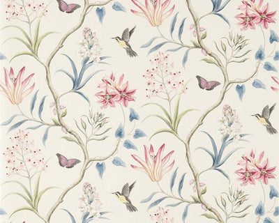 Sanderson Clementine Chintz 213388 Wallpaper