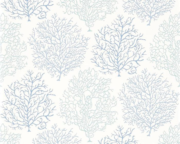 Sanderson Coral Reef Marine/Blue 213390 Wallpaper