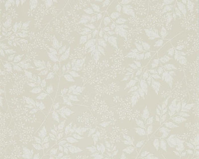Sanderson Spring Leaves Barley 216374 Wallpaper
