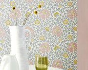 Little Greene Lansdowne Walk Frost 0259LWFROST Wallpaper