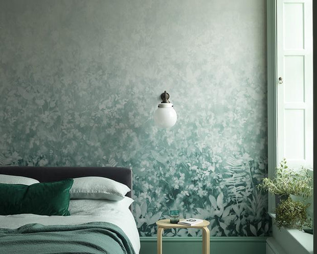 Paint & Paper Library Folia Perse Grey Wallpaper