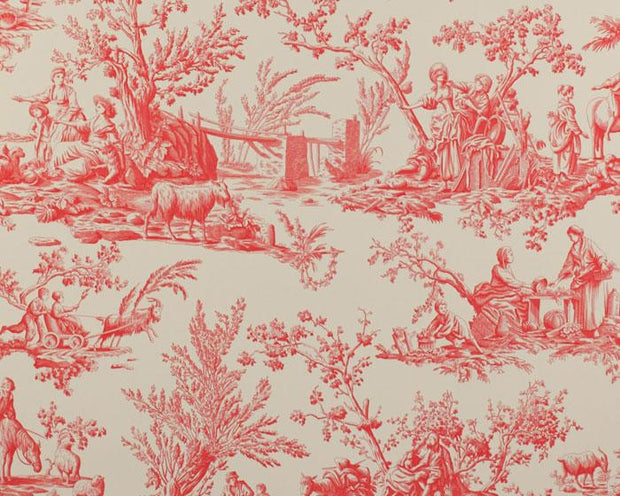 Manuel Canovas Bellegarde Rouge 03064/03 Wallpaper