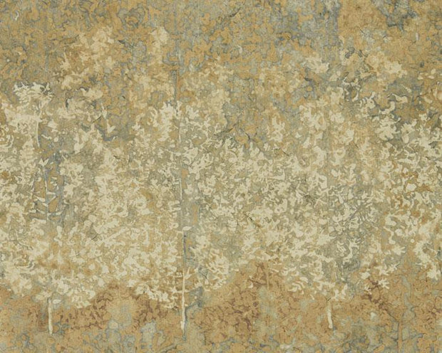 Zoffany Belvoir Blue/Amber 312651 Wallpaper
