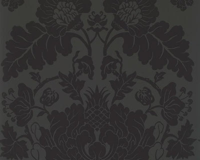 Zoffany Villandry Vine Black 312699 Wallpaper