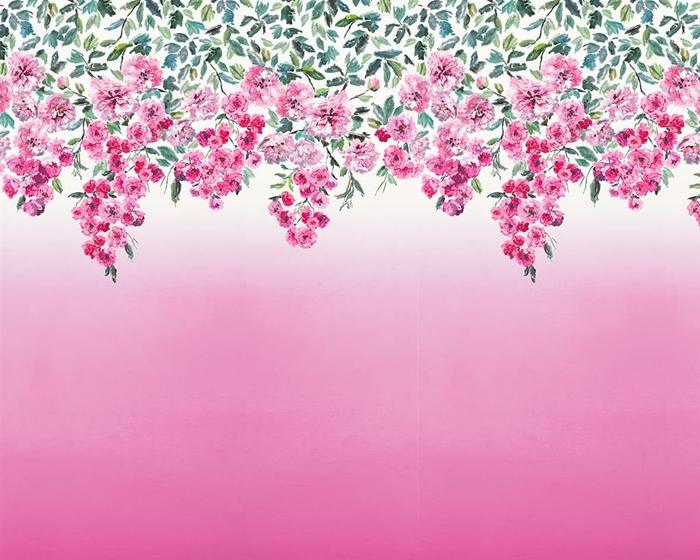 Designers Guild Trailing Rose - Peony PDG656/01 Wallpaper