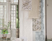 Designers Guild Chinese Trellis - Platinum PDG650/08 Wallpaper