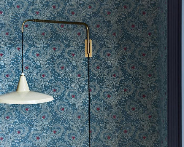 Little Greene Carlton House Terrace Slate 0259CTSLATE Wallpaper