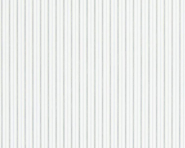 Ralph Lauren Marrifield Stripe - Blue / Linen PRL025/10 Wallpaper