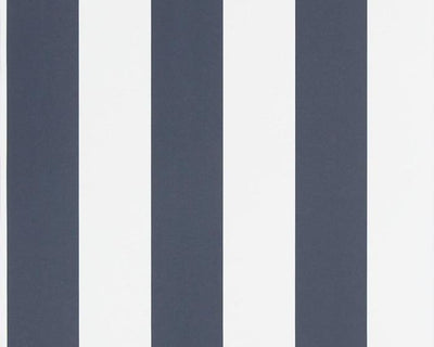 Ralph Lauren Spalding Stripe - Navy / White PRL026/08 Wallpaper