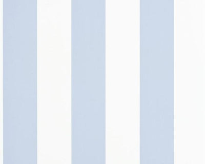 Ralph Lauren Spalding Stripe - Blue / White PRL026/10 Wallpaper