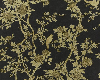 Ralph Lauren Marlowe Floral - Gilded Lacquer PRL048/02 Wallpaper