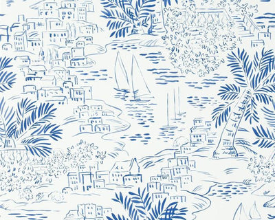 Ralph Lauren Homeport Novelty - Marine PRL030/03 Wallpaper