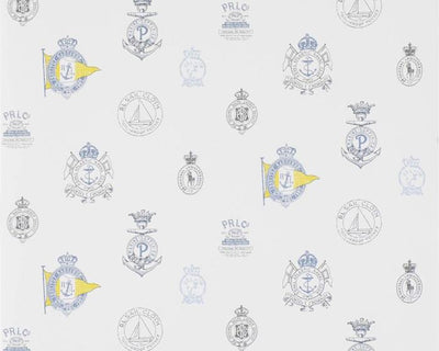 Ralph Lauren Rowthorne Crest - Top Brass PRL032/02 Wallpaper