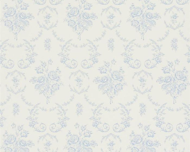 Ralph Lauren Saratoga Toile - Bluebell PRL033/02 Wallpaper