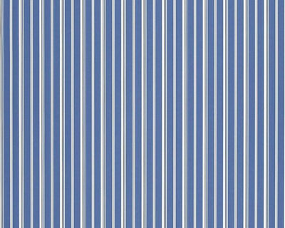 Ralph Lauren Laurelton Stripe - Porcelain Blue PRL035/01 Wallpaper
