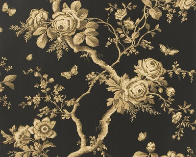 Ralph Lauren Ashfield Floral - Tobacco PRL027/06 Wallpaper