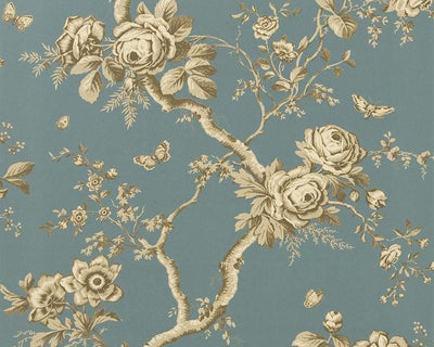 Ralph Lauren Ashfield Floral - Tourmaline PRL027/07 Wallpaper