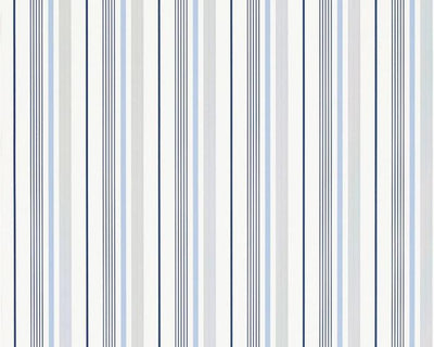 Ralph Lauren Gable Stripe - French Blue PRL057/01 Wallpaper