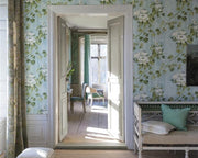 Designers Guild Floreale - Steel PDG673/05 Wallpaper