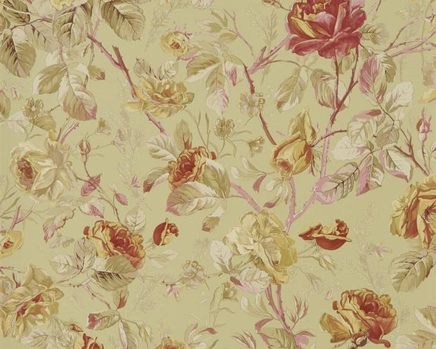 Ralph Lauren Mapleton Marston Gate Floral - Blue PRL705/04 Wallpaper