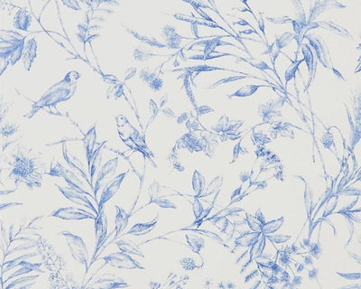 Ralph Lauren Fern Toile - Bluebell PRL710/02 Wallpaper