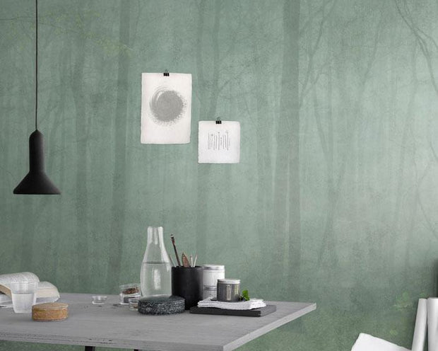 Sandberg Skog Green 622-08 Wallpaper