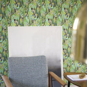 Designers Guild Delahaye - Emerald PDG715/01 Wallpaper
