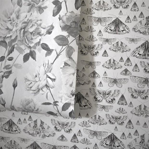 Designers Guild Issoria - Black And White PDG713/05 Wallpaper